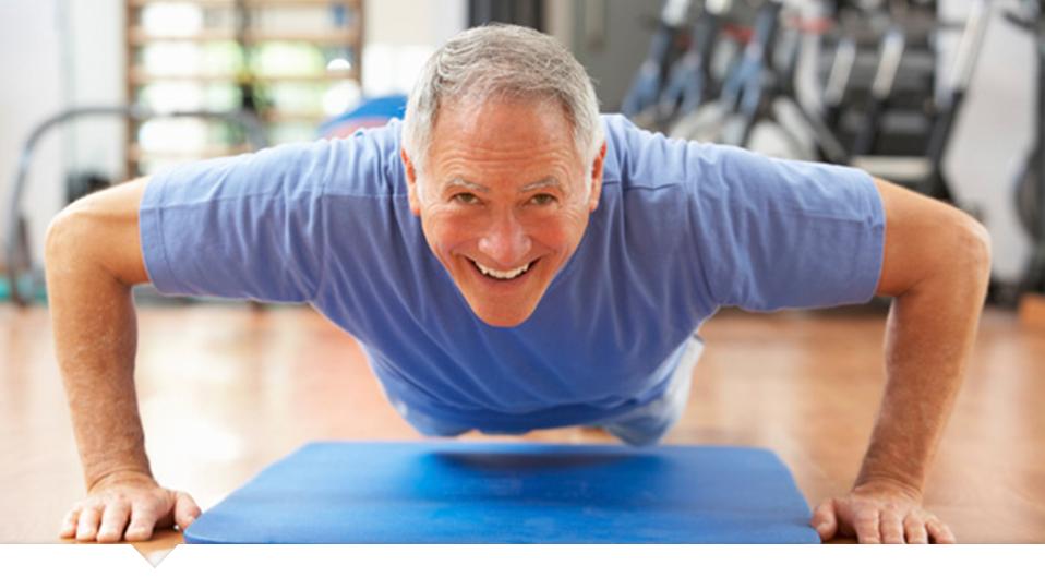 Atividade física após os 40 anos reduz os riscos de acidente vascular cerebral após os 65 anos